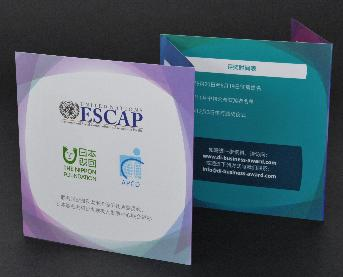 โบรชัวร์ โดย United Nations ESCAP, Nippon Foundation และ Asia-Pacific Development Center on Disability-APCD)